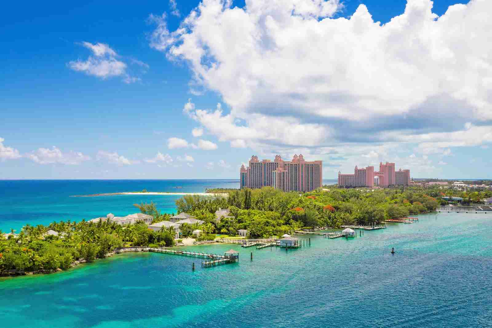 Paradise Island in Nassau in the Bahamas. (Photo by Pola Damonte/Getty Images)