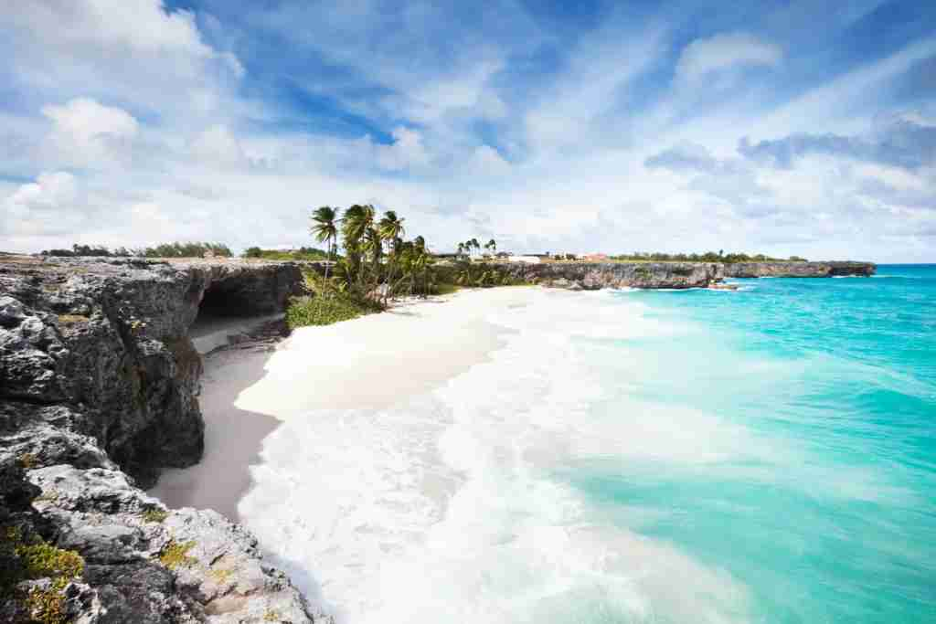 Bottom Bay in Barbados. (Photo by TommL/Getty Images)