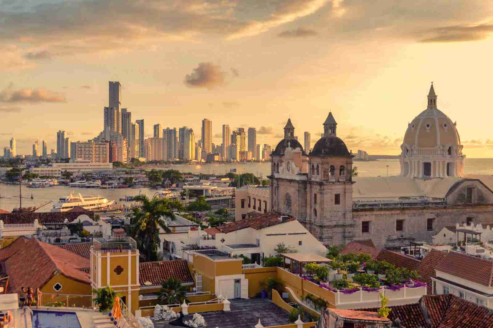 Cartagena, Colombia. (Photo by Starcevic/Getty Images)