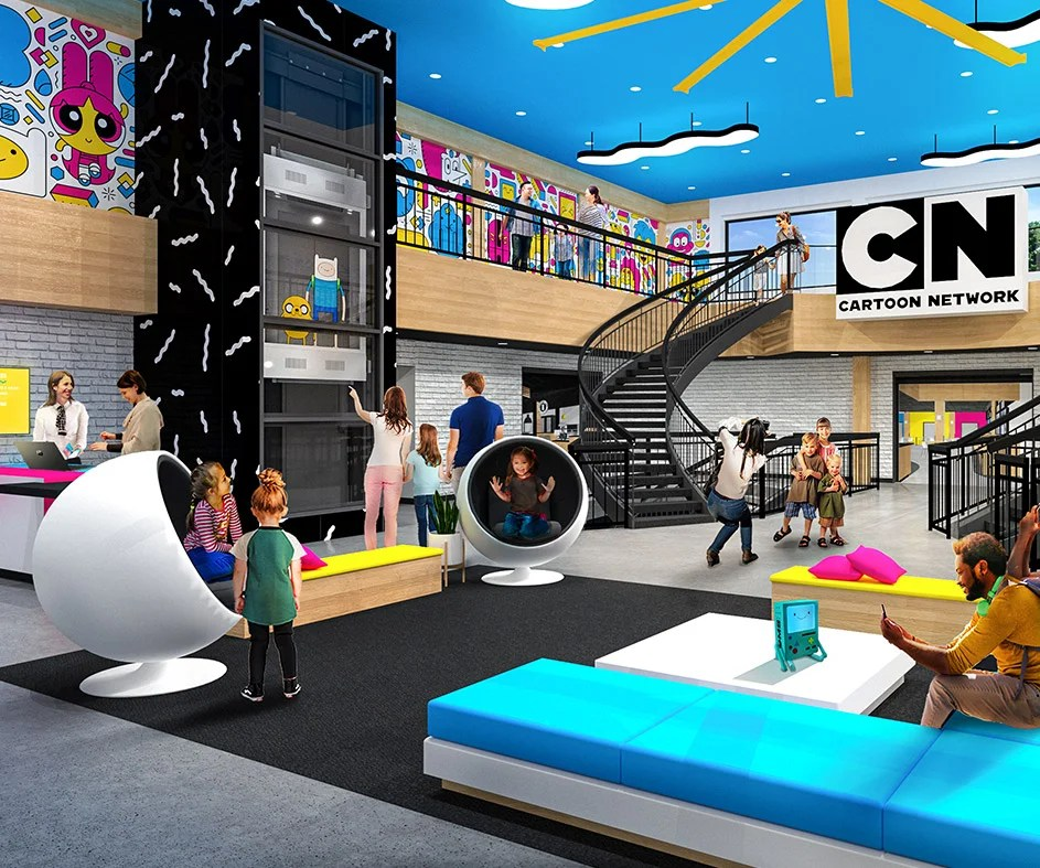 A Cartoon Network Hotel Is Opening This Summer