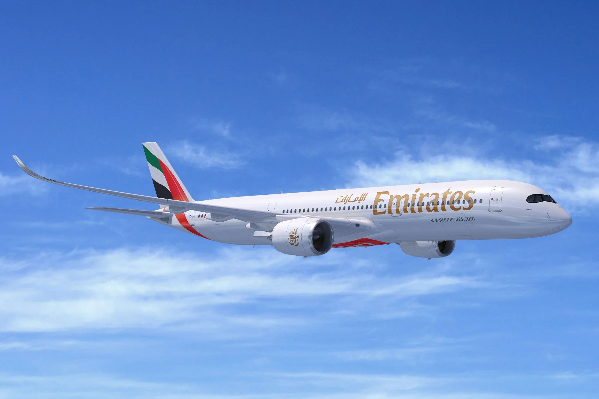 Emirates places massive $16 billion order for 50 Airbus A350s
