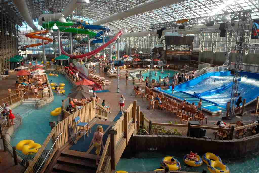The Water Park at Jay Peak Resort in Vermont. (Photo by Education Images/Universal Images Group/Getty Images)