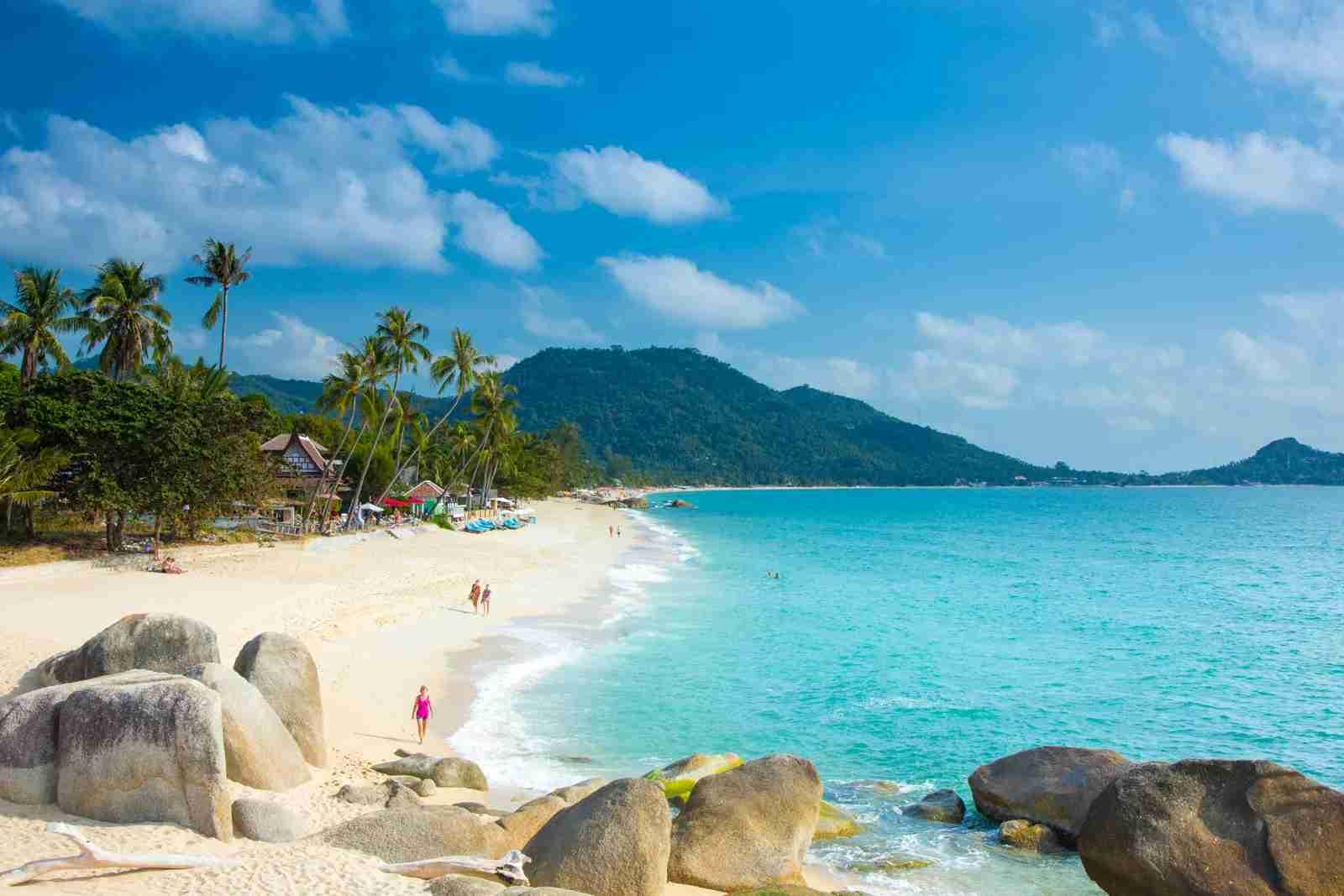 Lamai Beach in Koh Samui, Thailand. (Photo by Jon Arnold/Getty Images)