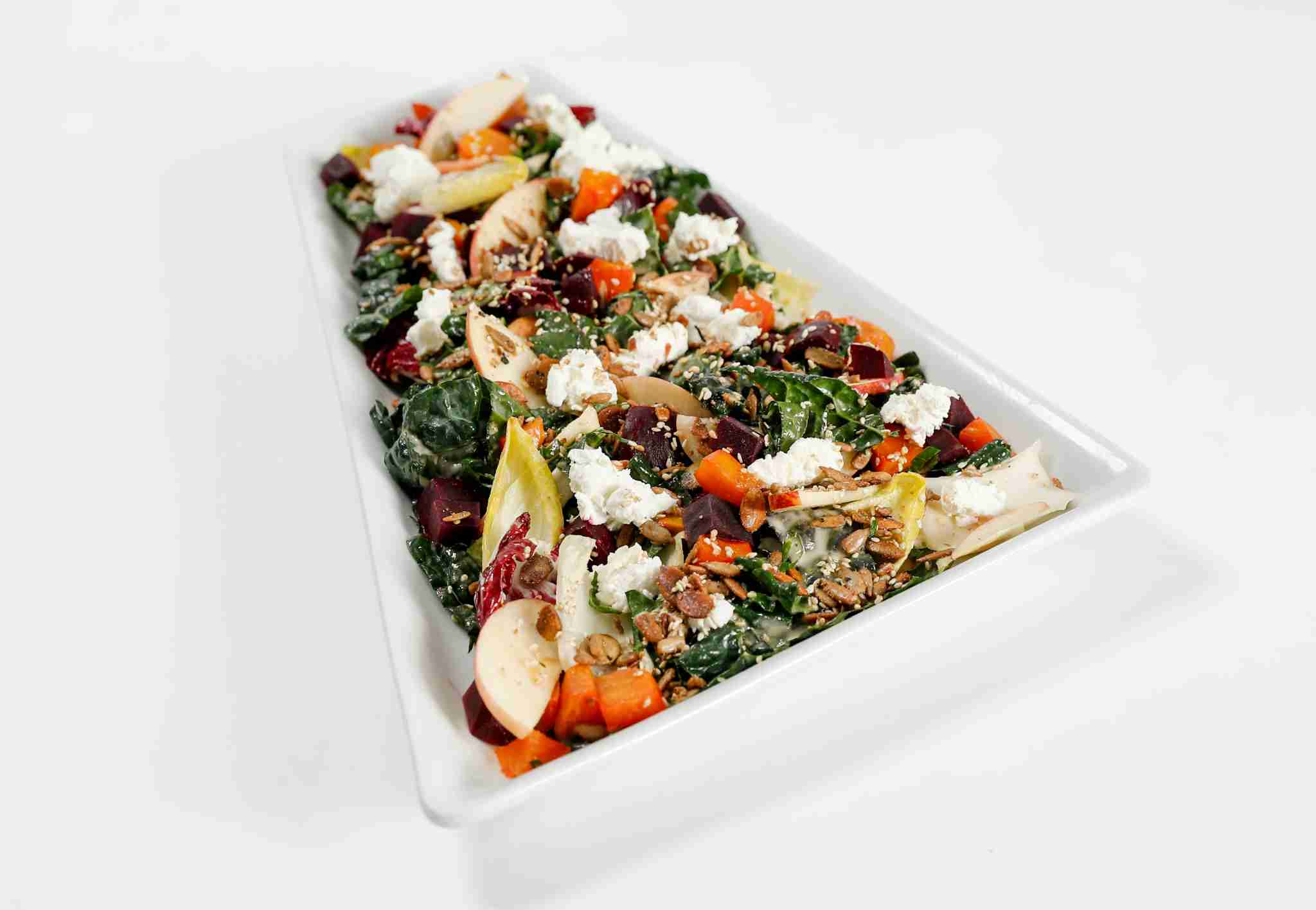 Tuscan kale salad. (Photo courtesy of American Airlines.)