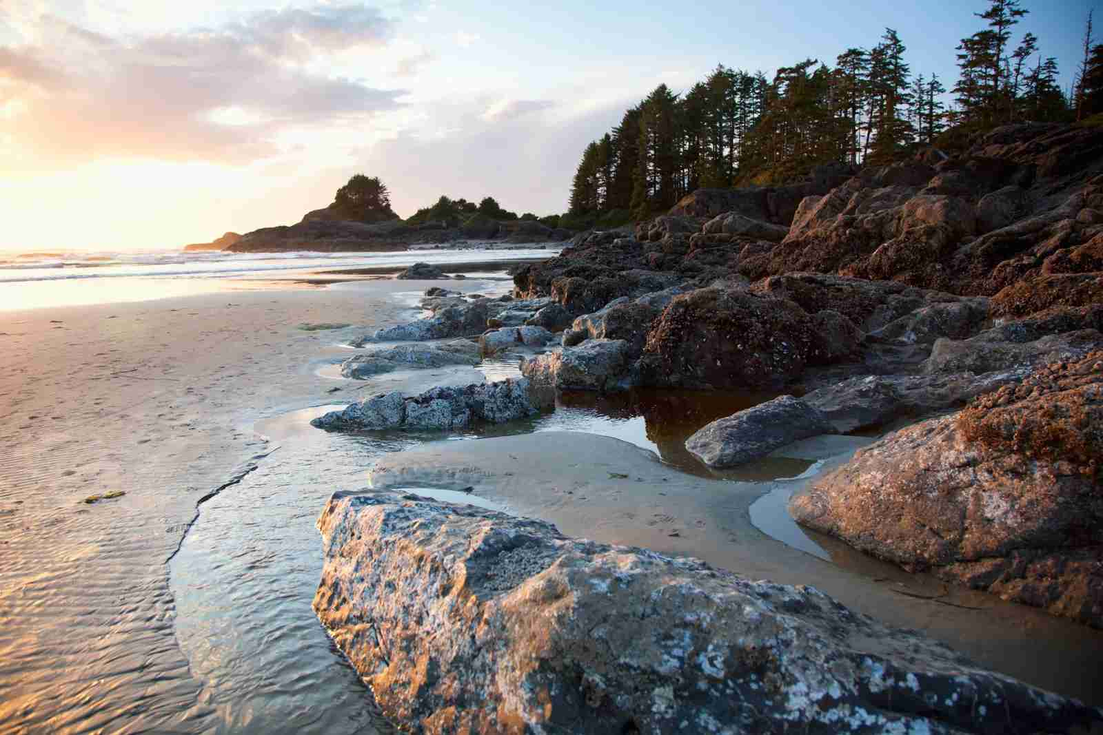 Cox Bay near Tofino. (Photo by DEDDEDA/Design Pics/Getty Images)