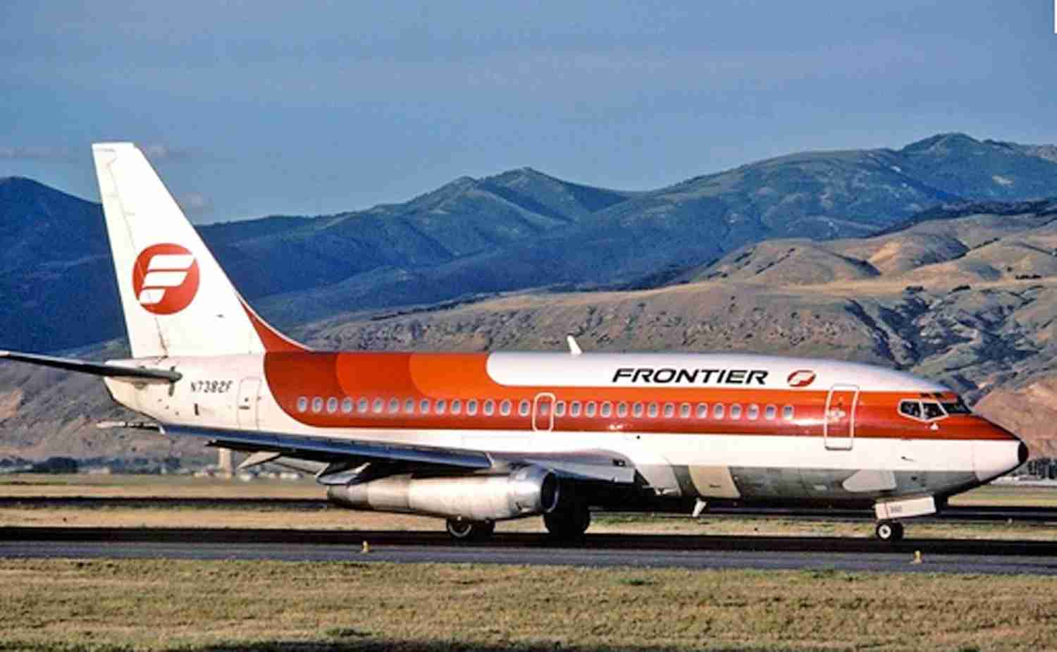 A Frontier 737