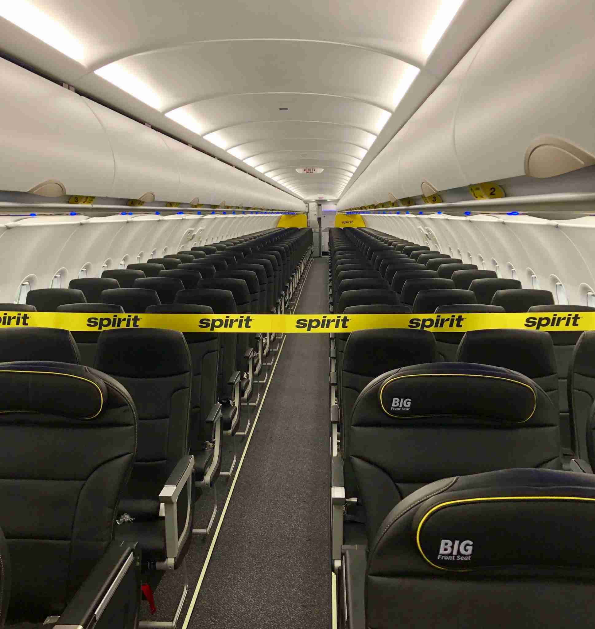 Spirit Airlines Unveils New Seats And Cabin On An A320neo