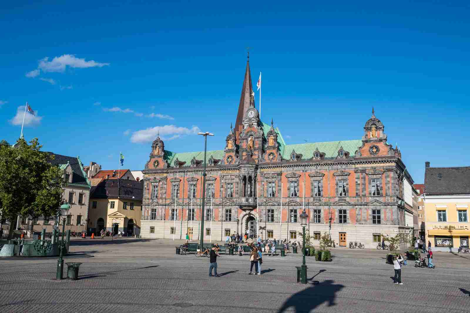 The old City Hall in Malmö. (Photo by Michael Runkel/Getty Images)
