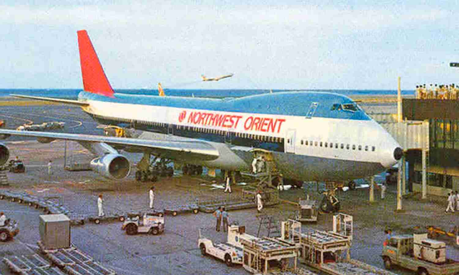 Northwest became the world's largest operator of the 747.