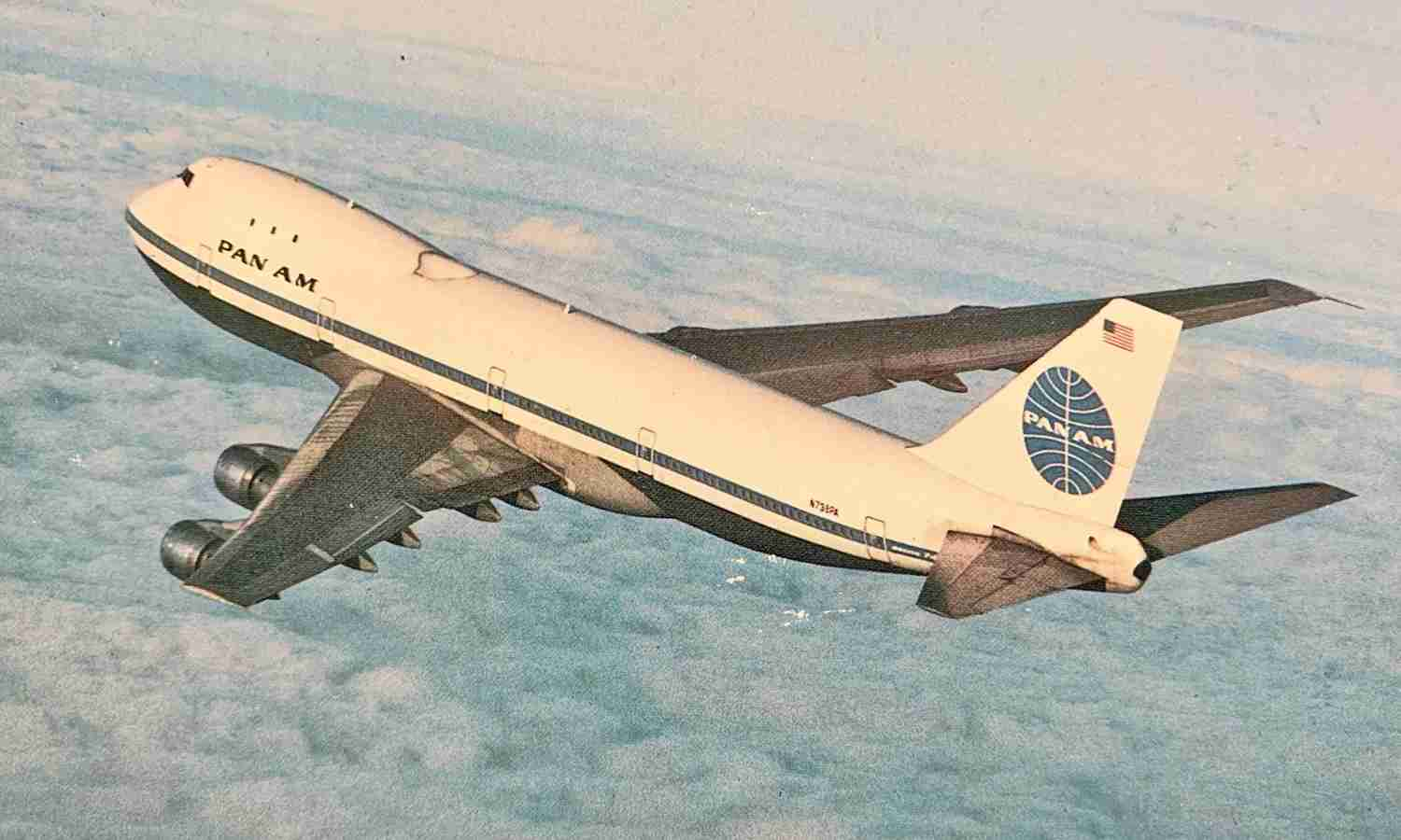 Pan Am introduced the 747 to the world in 1970