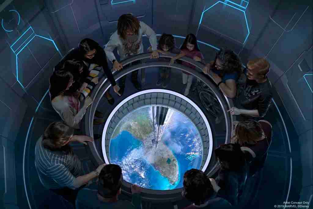 Space 220 (Image courtesy of Disney Parks)