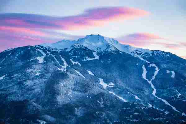 Whistler Peak. (Photo by VisualCommunications/Getty Images)