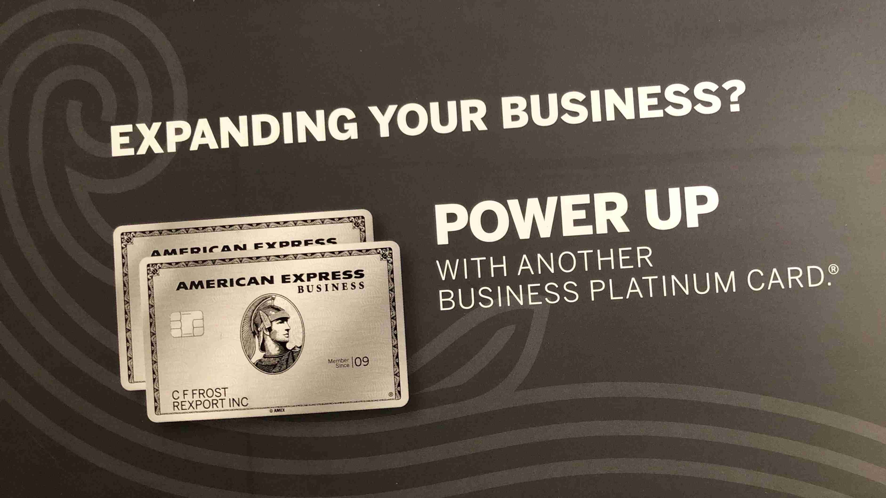 american express business platinum second card