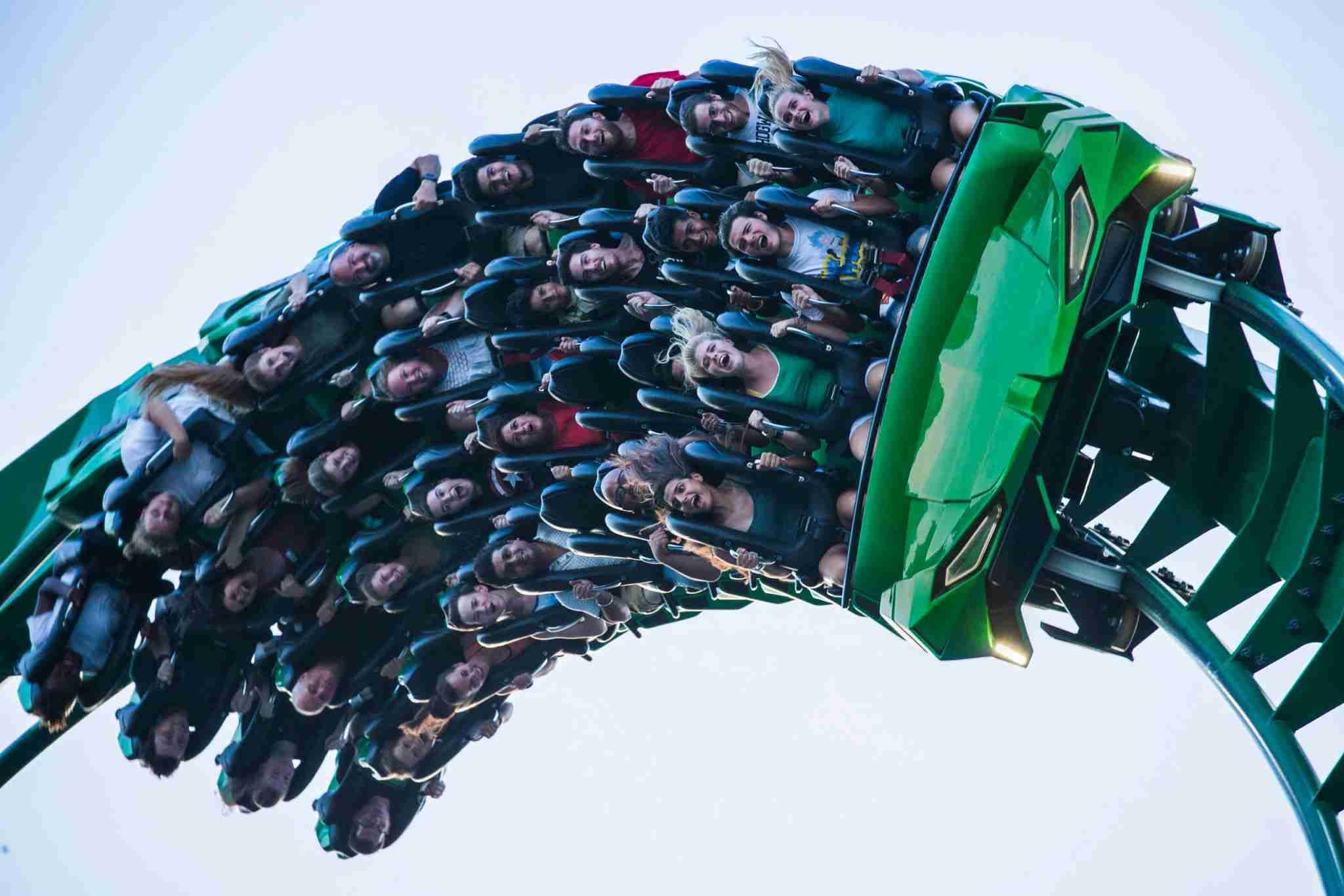 The Incredible Hulk Coaster (Photo courtesy of Universal Orlando.)