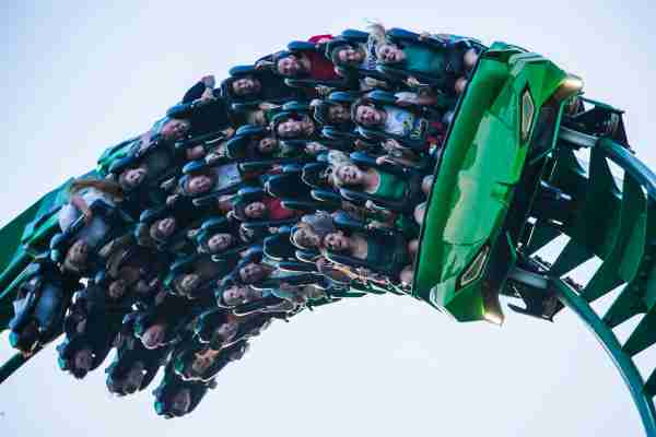 The Incredible Hulk Coaster (Photo courtesy of Universal Orlando.)
