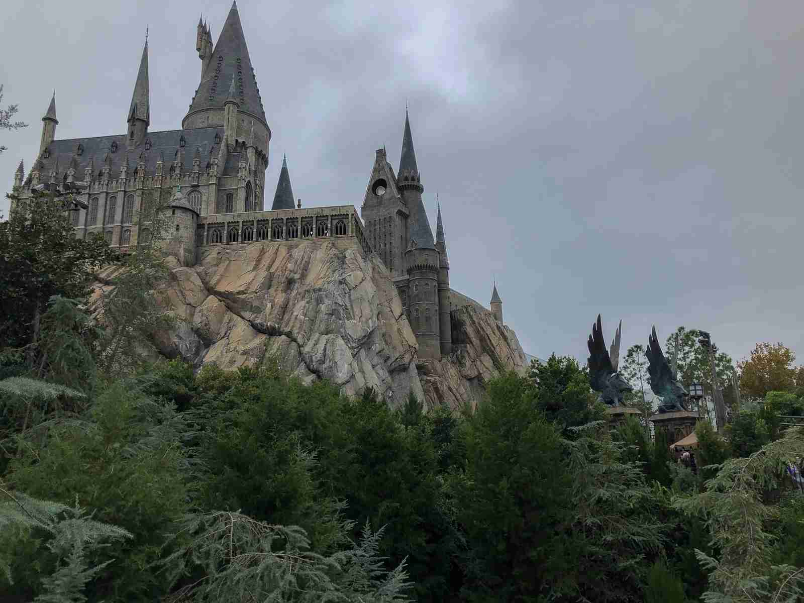Hogwarts Castle (Photo by Leonard Hospidor.)