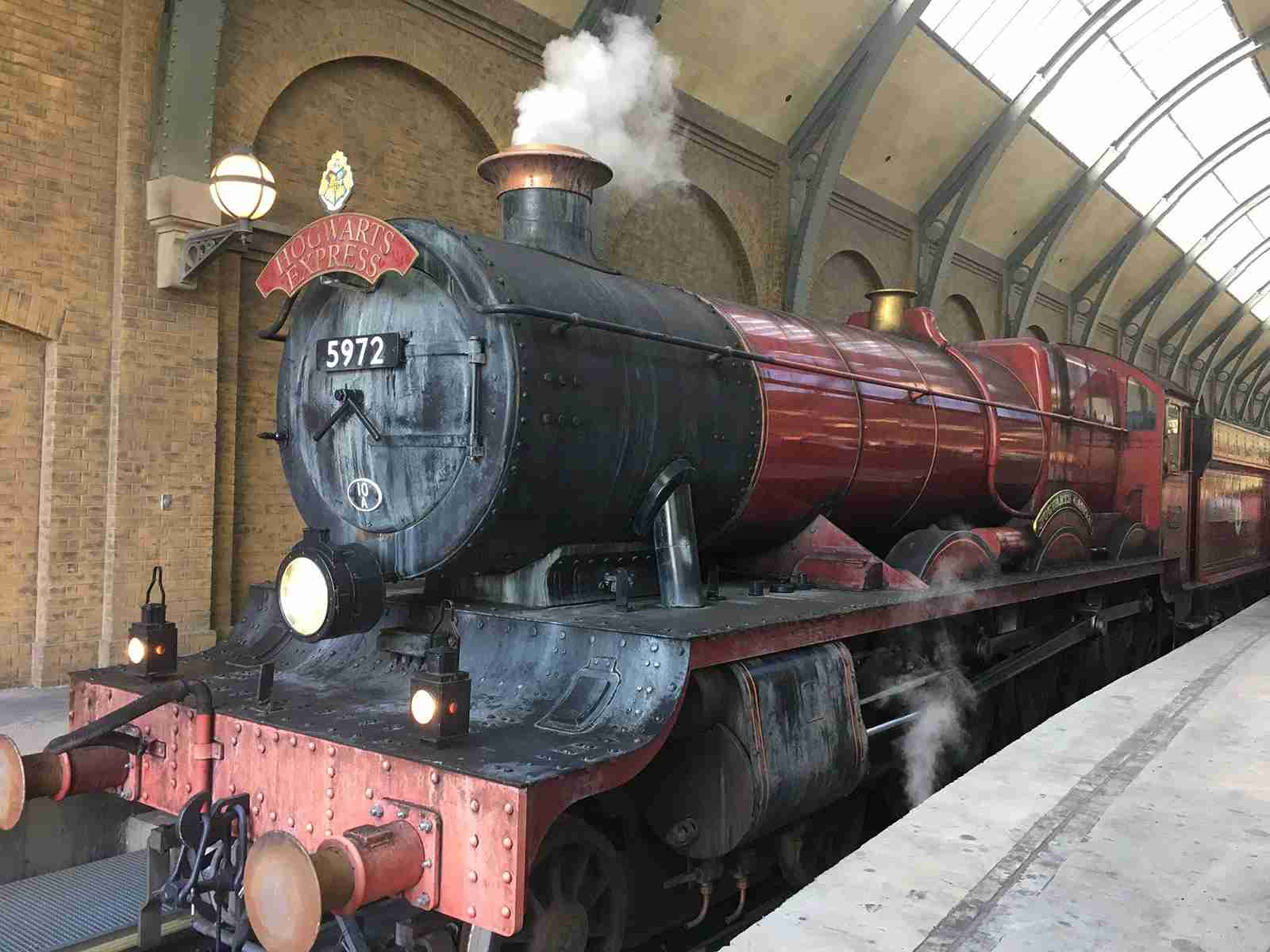 Hogwarts Express. (Photo by Andrea M. Rotondo/The Points Guy.)