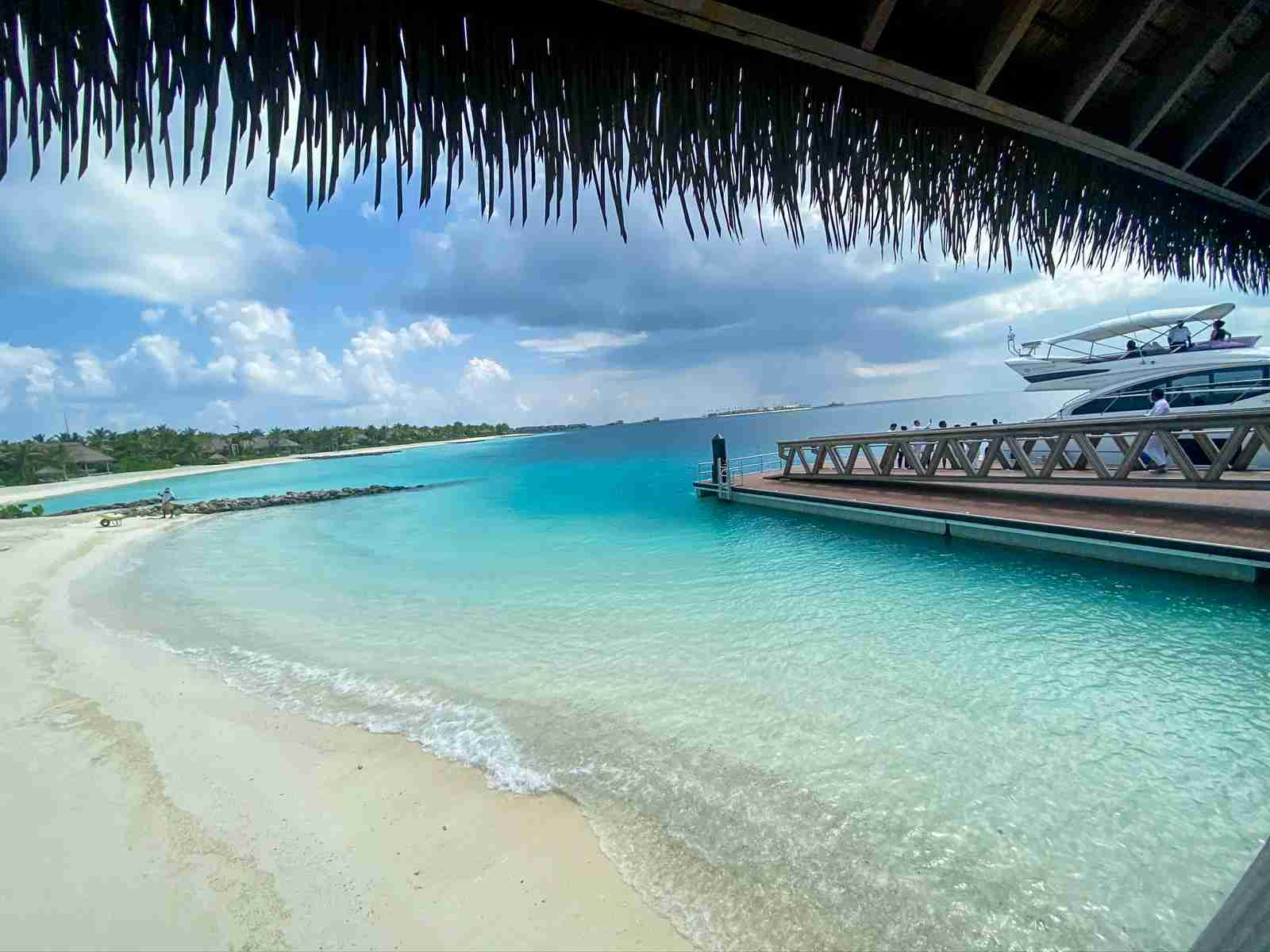 The Waldorf Astoria Maldives. (Photo by Brian Kelly/The Points Guy)