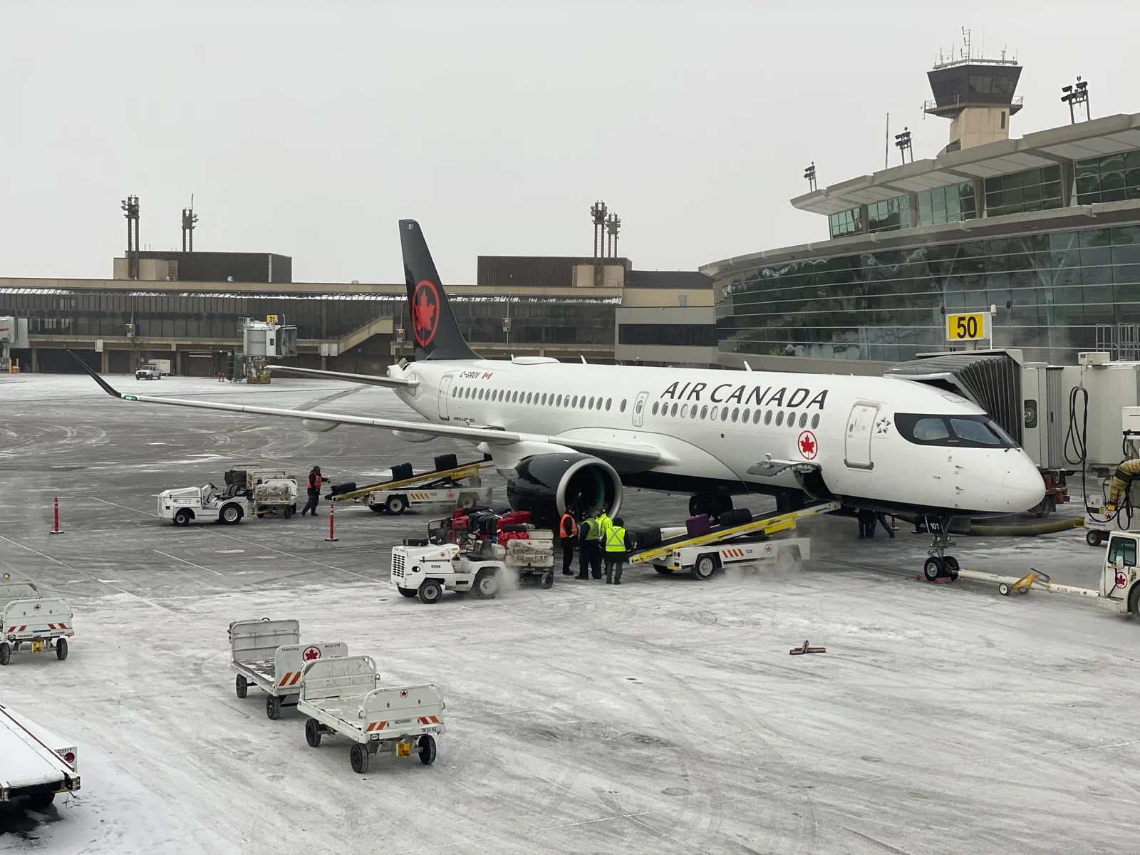First Impressions Of Air Canada S Brand New Airbus A220