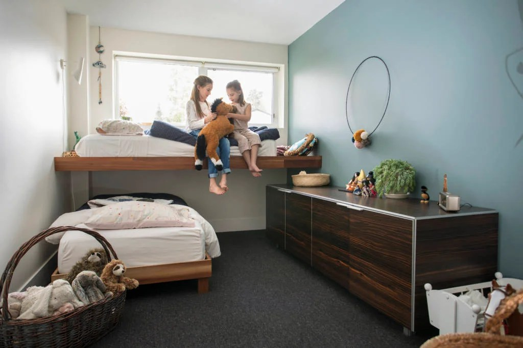 Make sure the bed layout is suitable for your family or ask the host.