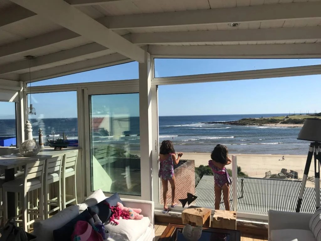Beach house in Uruguay courtesy of Airbnb