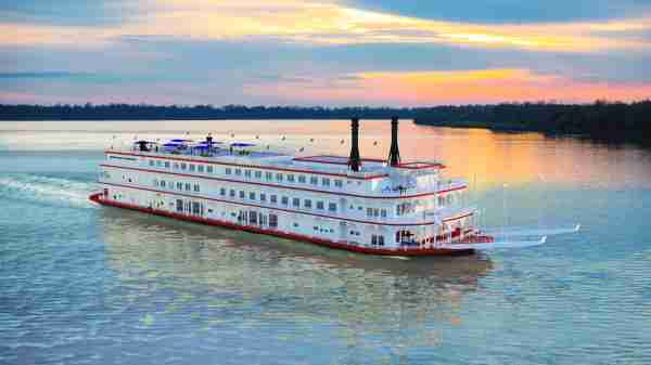 American Countess will have a classic Mississippi riverboat look. Image courtesy of American Queen Steamboat Company.