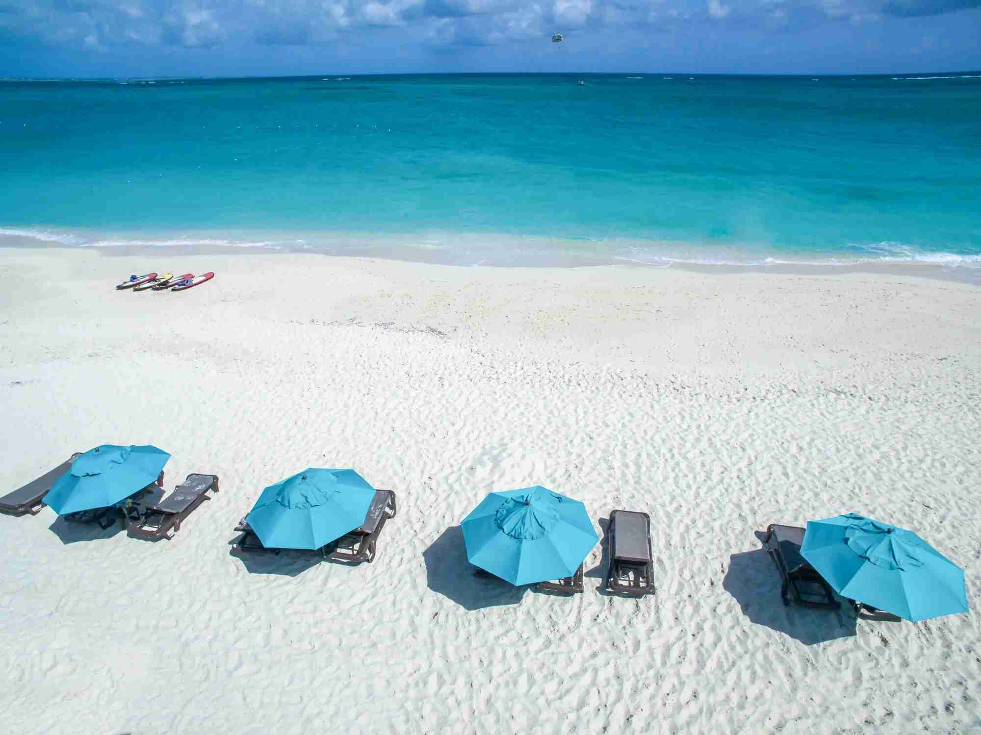 Grace Bay, Turks and Cacios (Photo by minimum/Getty Images)