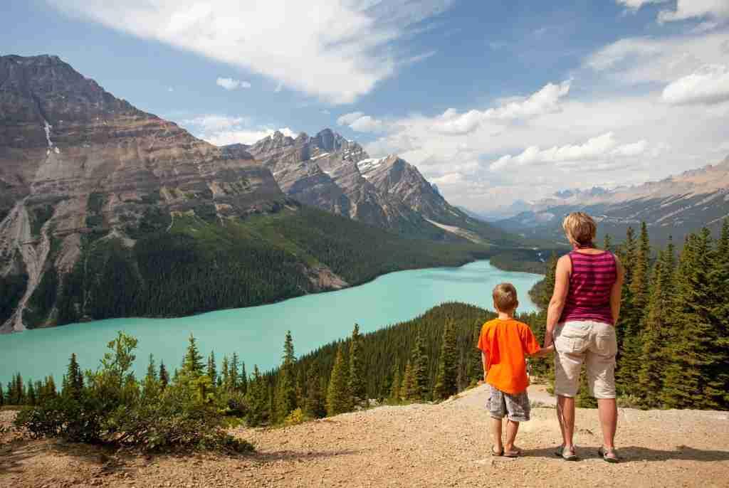 Peyto Lake, Canadian Rockies, Alberta, Canada