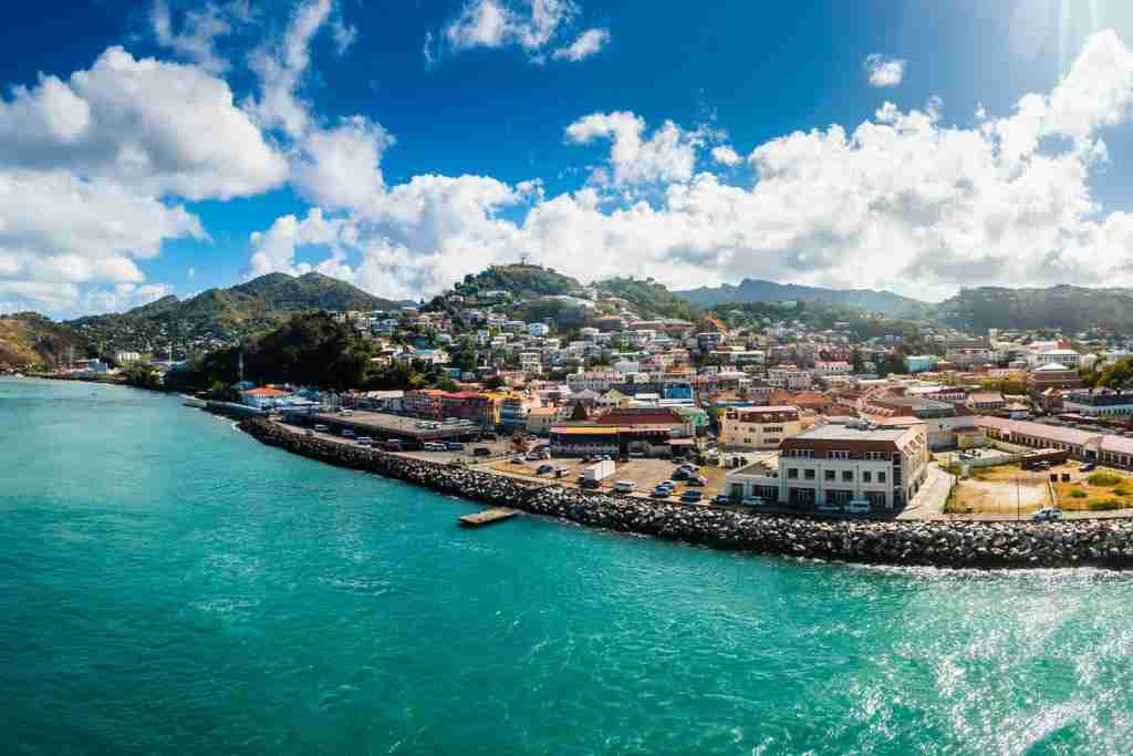 Saint George-Harbour, Grenada. (Photo by Westend61/Getty Images)