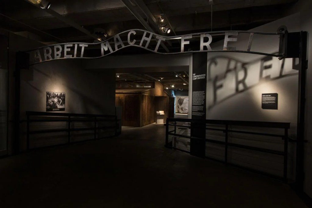 Image courtesy of the National Holocaust Museum