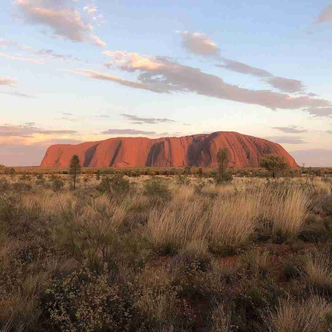 Uluru, in the Australian outback. Image courtesy of Nicholas Richard.
