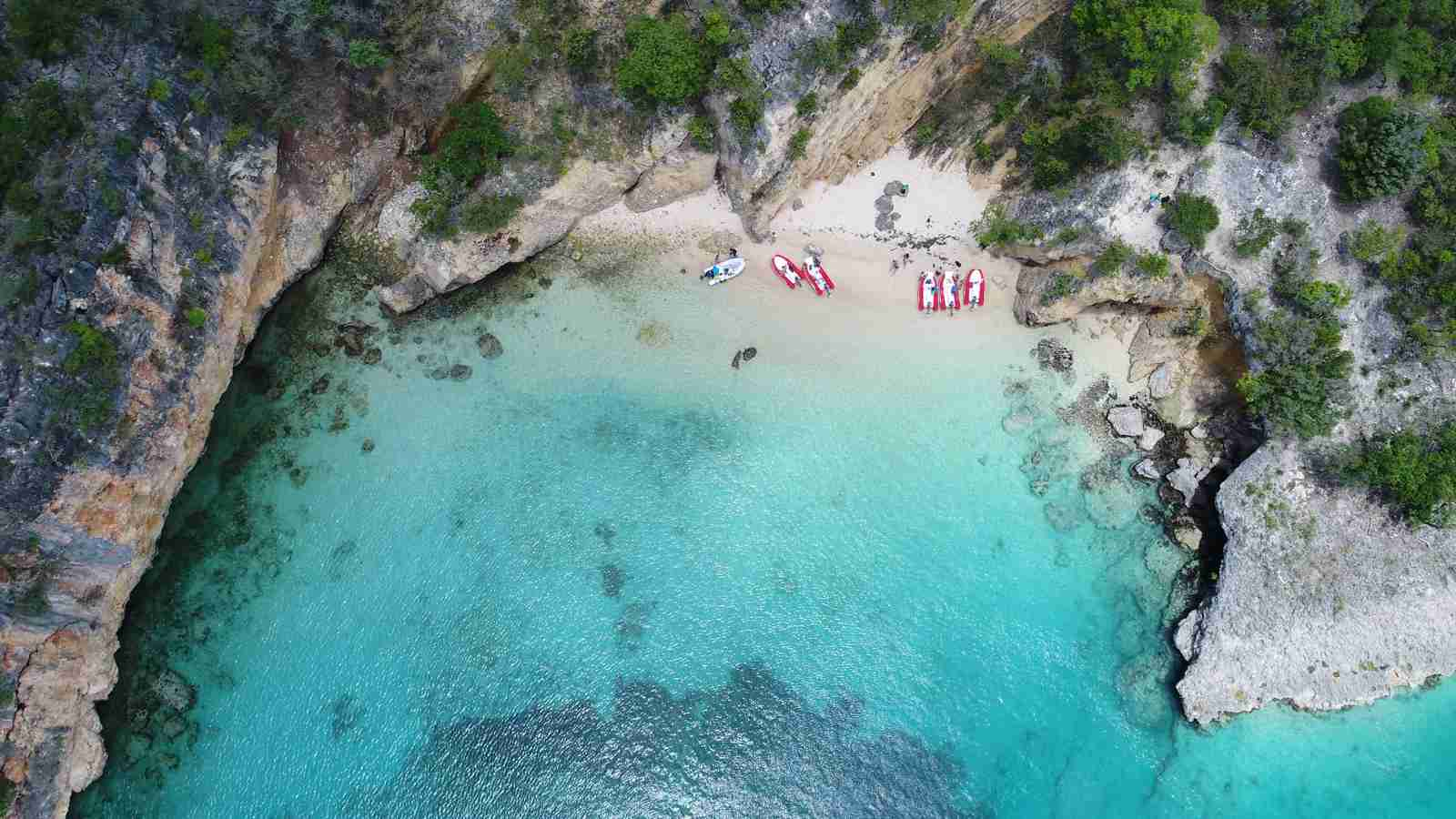 Little Bay, Anguilla. (Photo by Nikolay Tranov/Shutterstock)