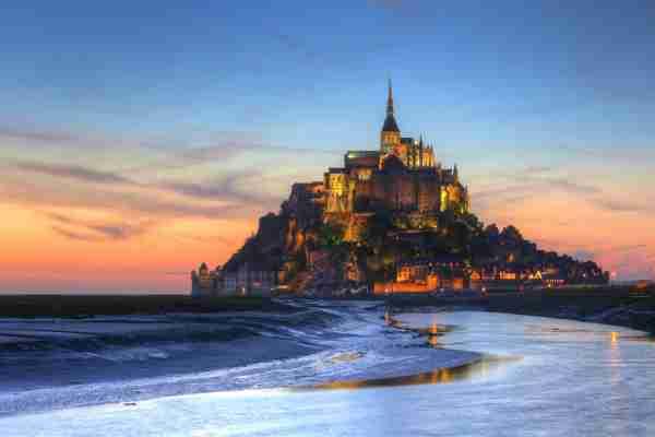 Mont Saint Michel. (Photo by Christian Krieglsteiner/Getty Images)