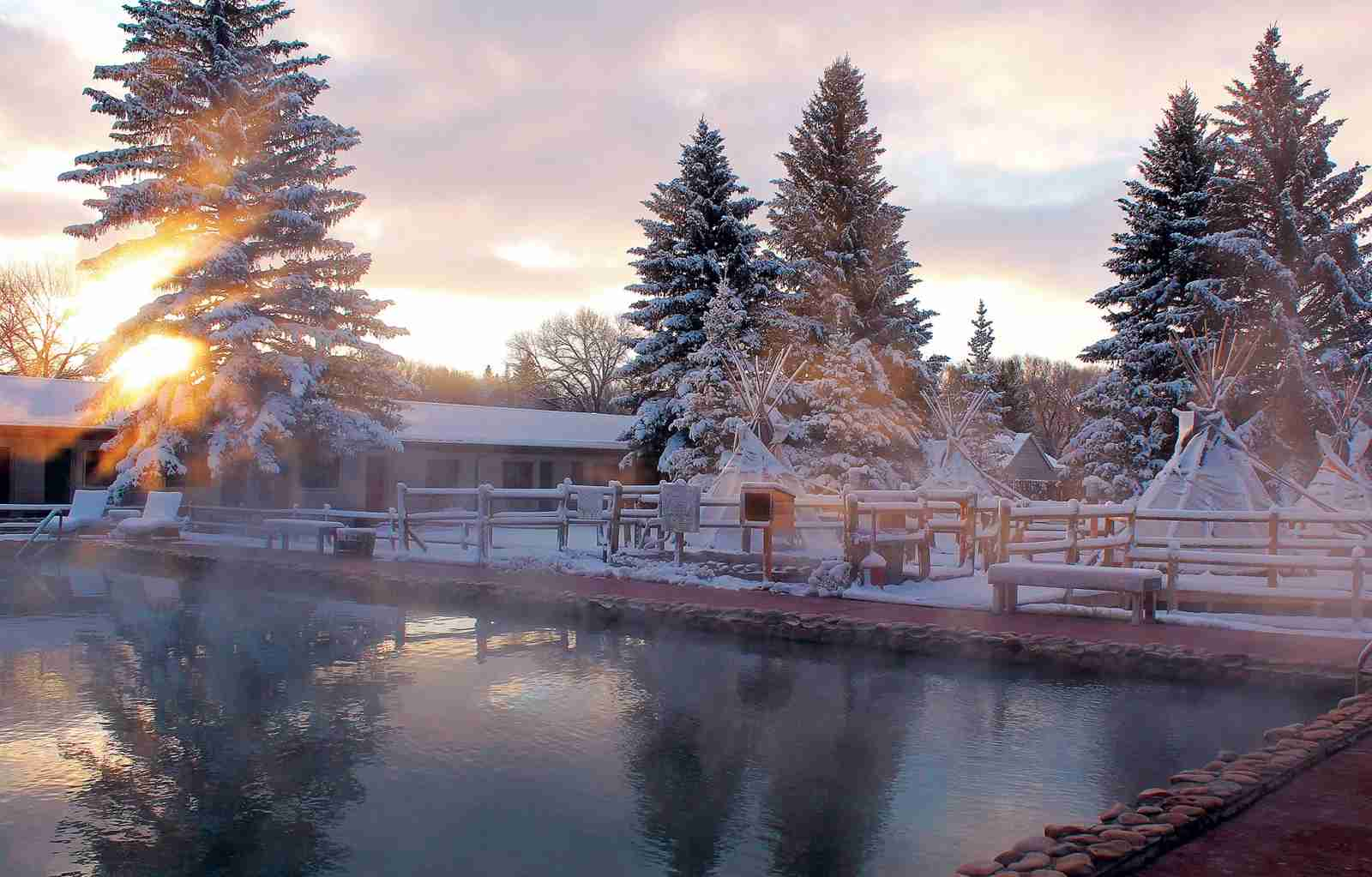 Saratoga Hot Springs Resort. (Photo courtesy of TravelWyoming.com)