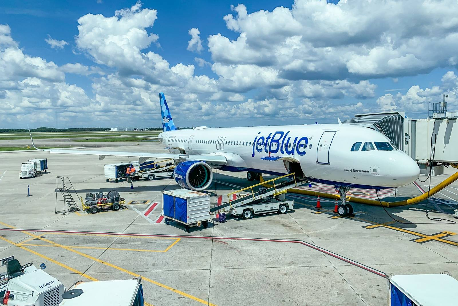 Breaking: JetBlue becomes first US airline to require passenger face coverings