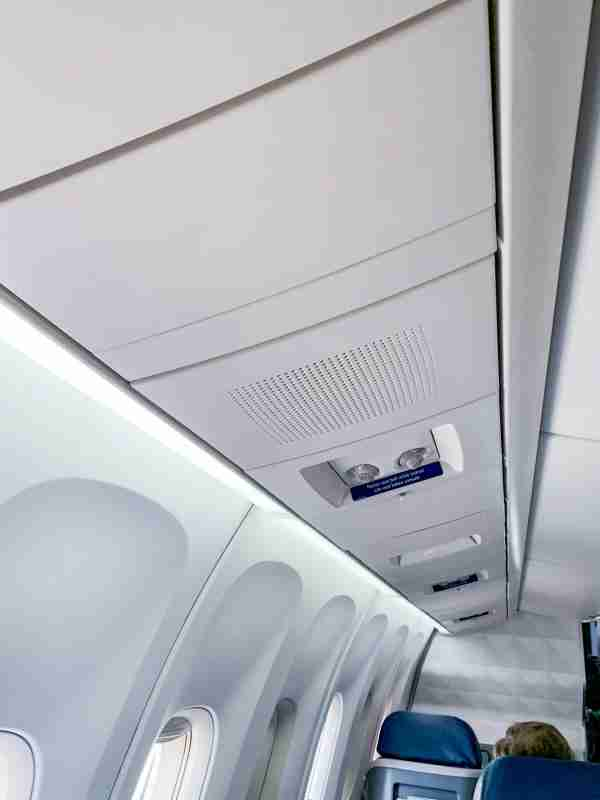 Air vents on the Delta 767-300ER.