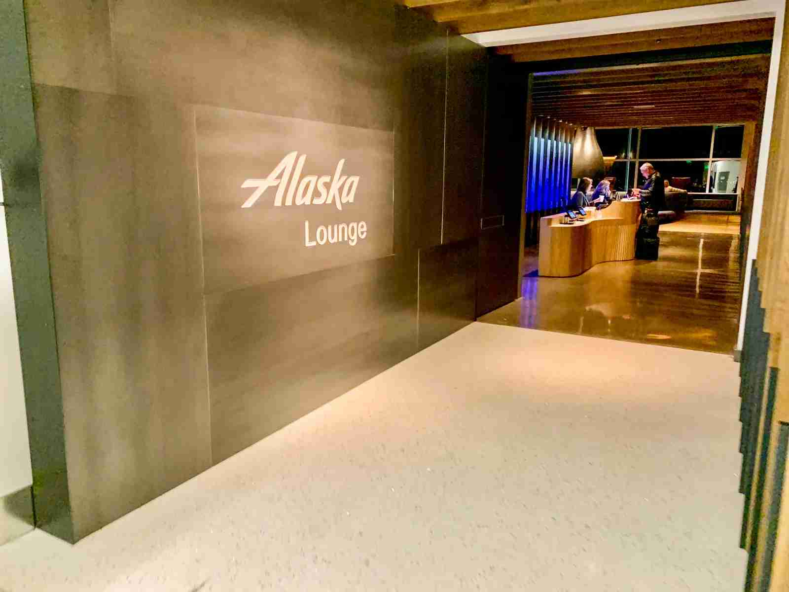 Seattle Alaska Airline New Lounge. (Photo by Clint Henderson/The Point Guy)
