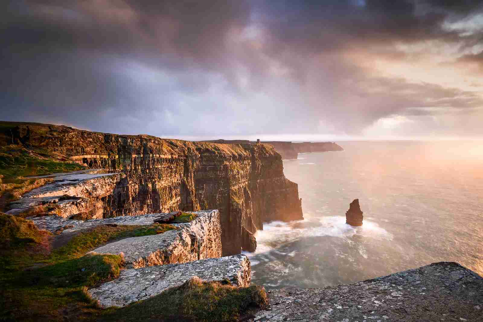 The Cliffs of Moher. (Photo by George Karbus Photography/Getty Images)