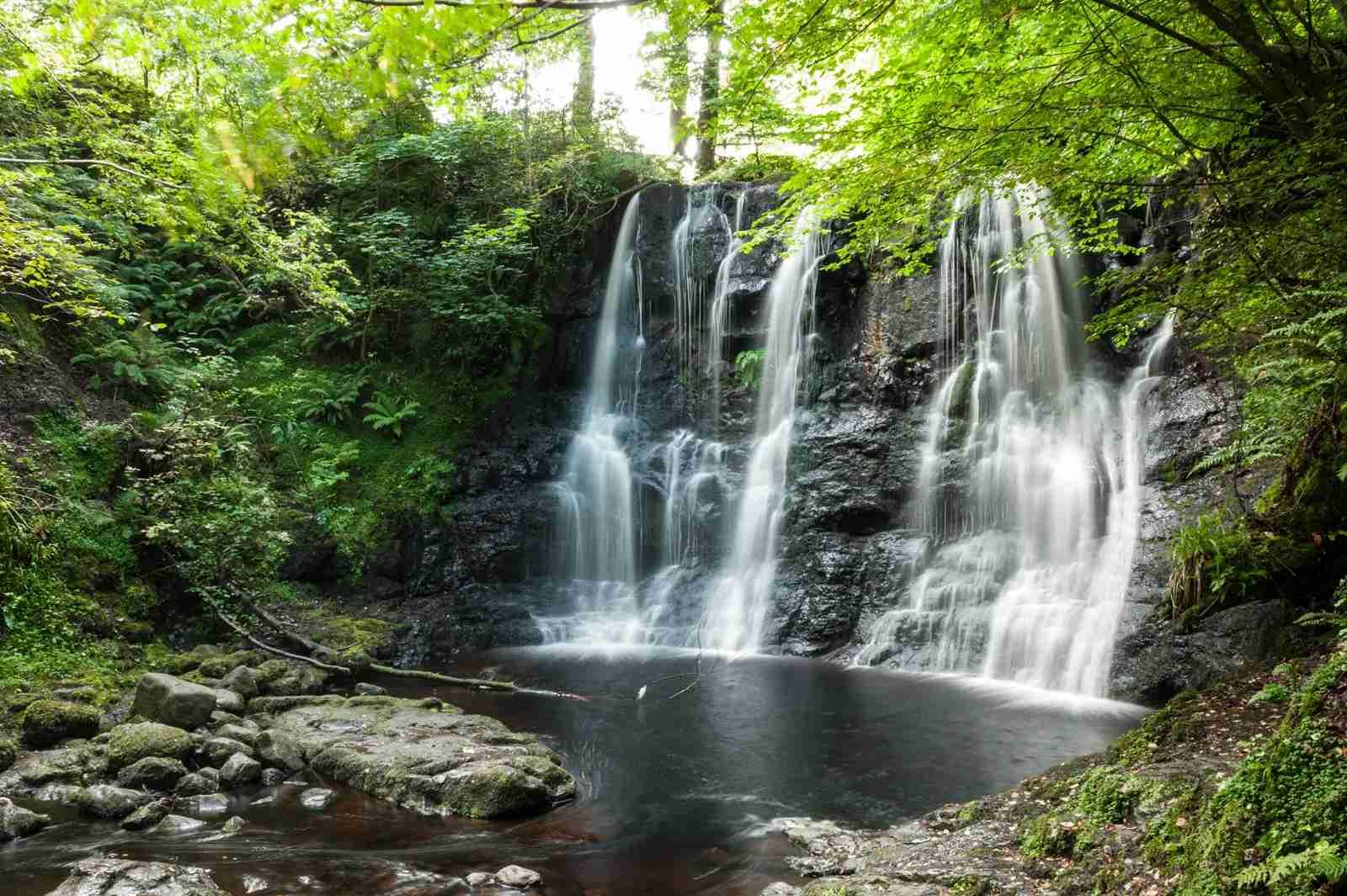 Glenariff Forest Park in Northern Ireland. (Photo by Nicola Ferrari/Getty Images)