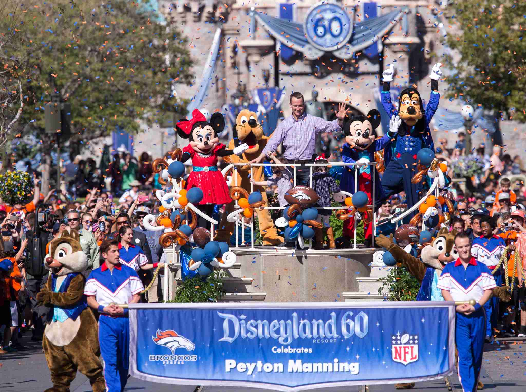 The parade at Disneyland in 2019 (Photo by Paul Hiffmeyer/Disneyland Resort via Getty Images)