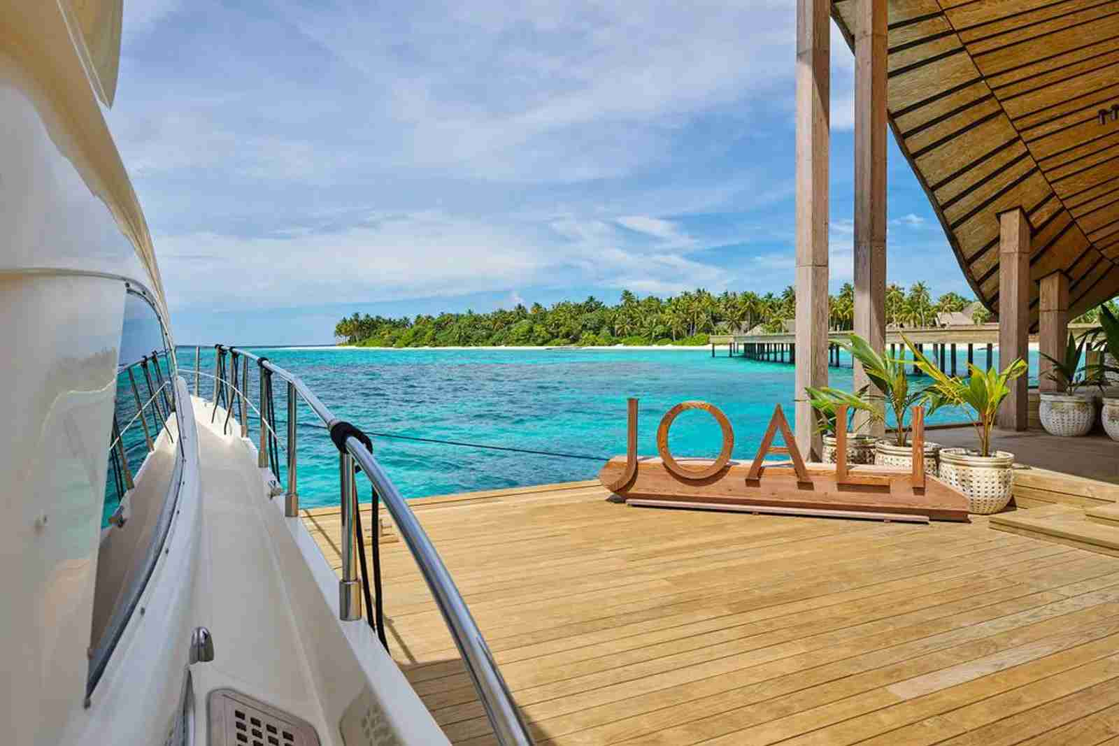 (Photo courtesy of Joali Maldives)