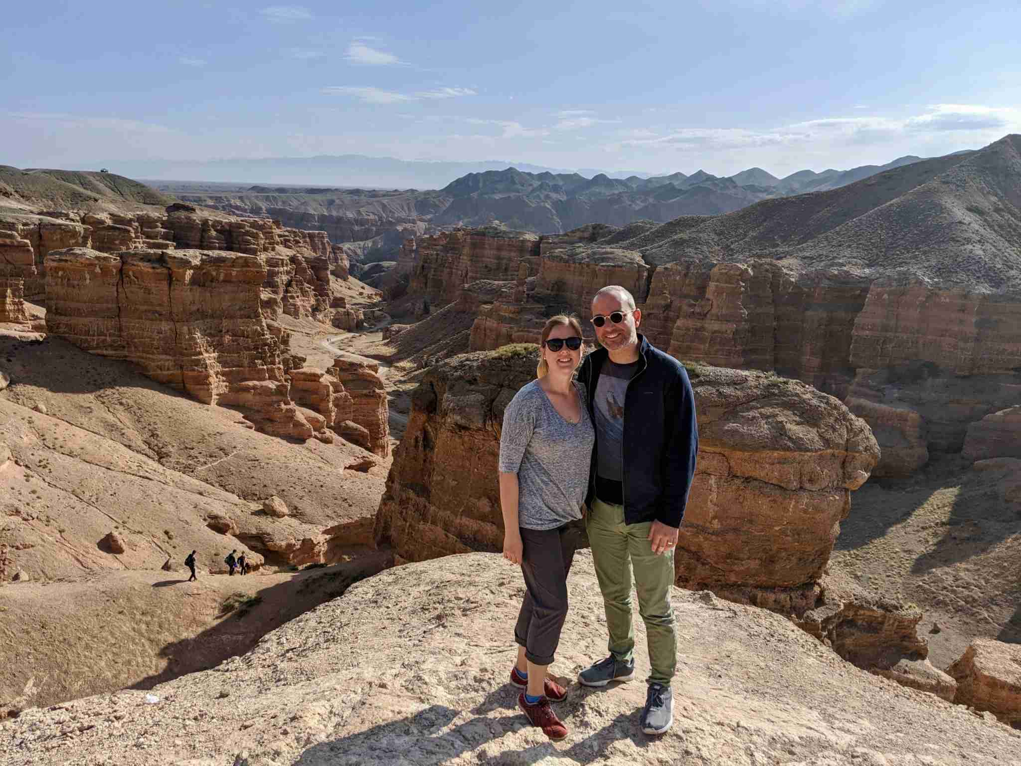 Charyn Canyon. (Photo by Carissa Rawson/The Points Guy).