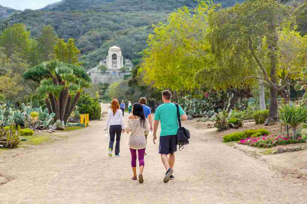 Wrigley Memorial Hike Catalina Island
