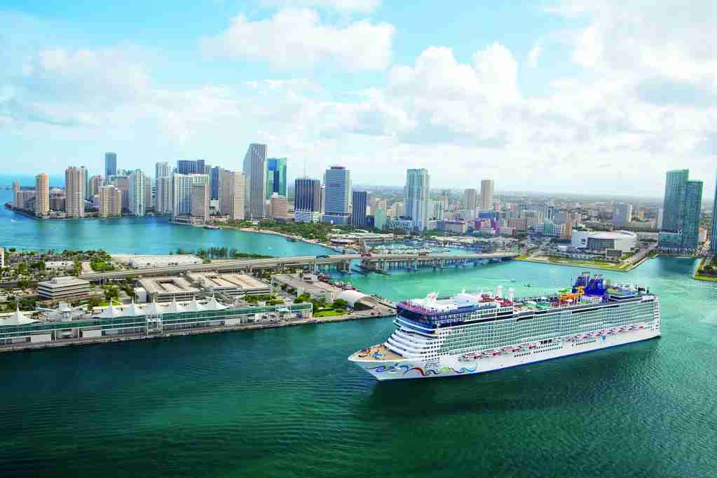 Norwegian Epic at PortMiami (Photo courtesy of Norwegian Cruise Line)