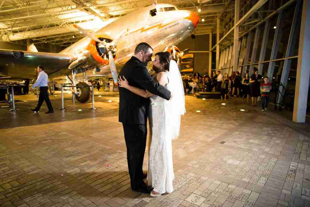 Photo courtesy of American Airlines featuring Bradley and Cherie Cook.