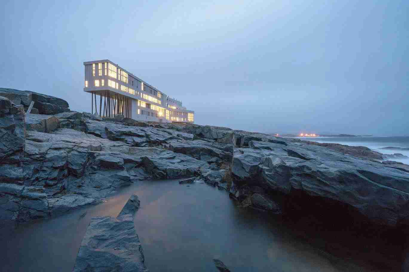 Photo of Fogo Island Inn courtesy of Facebook.