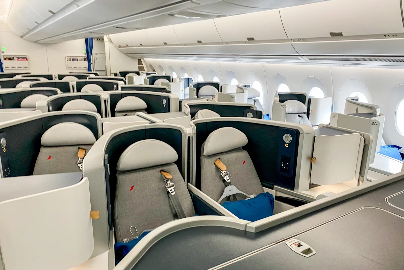 Great except the food: Review of Air France's A350 business class, Paris to Toronto