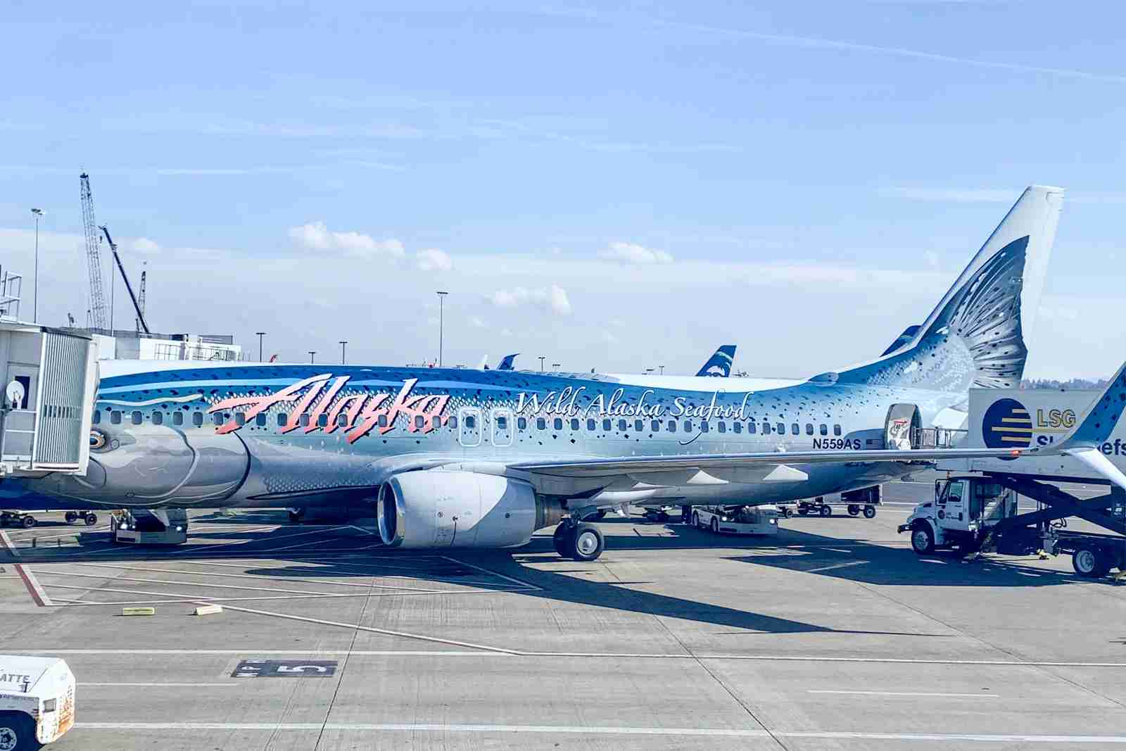 Alaska Airlines jet 2020. (Photo by Clint Henderson/The Points Guy)
