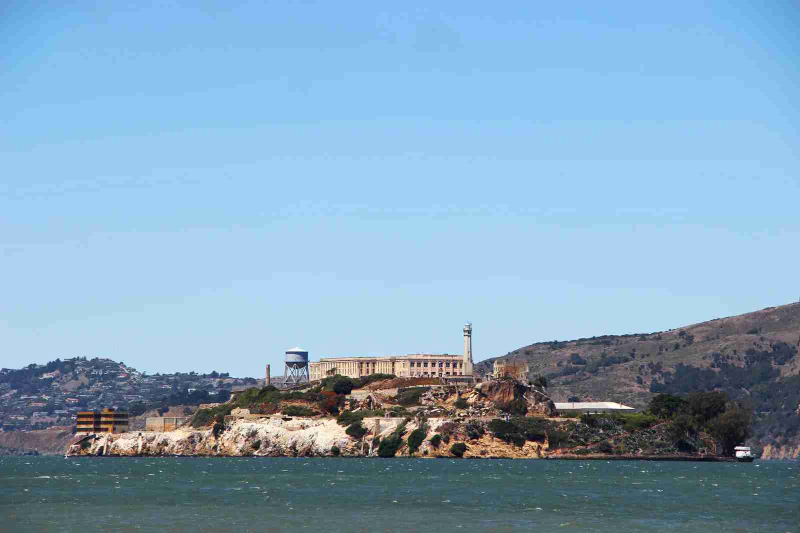Alcatraz Island. (Photo by Aldric Rivat/Unsplash)