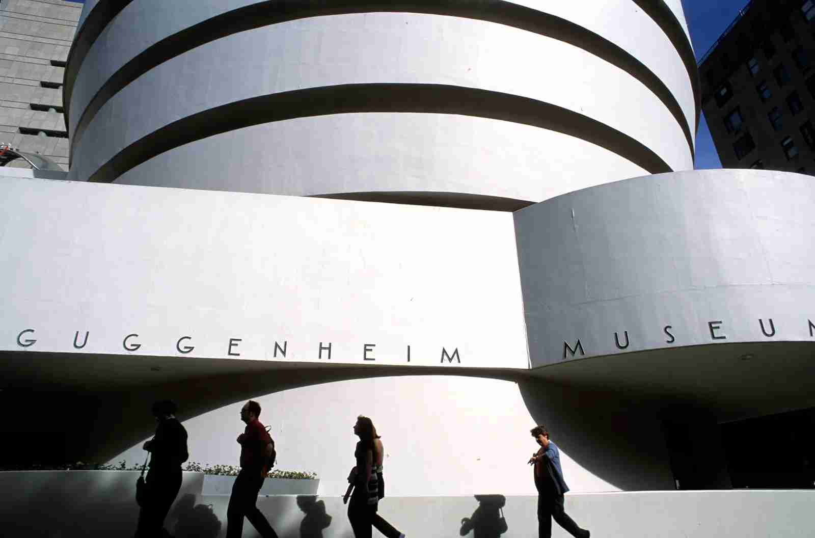 The Guggenheim Museum in New York City. (Photo by Luis Davilla/Getty Images)